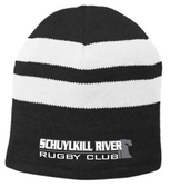 Schuylkill Fleece-Lined Stripe Beanie