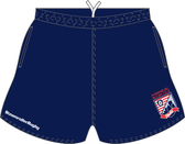 Harrisburg WOMEN Pocketed Performance Rugby Shorts