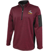 Salisbury Rugby Performance Fleece 1/4-Zip, Maroon