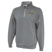 Furies 1/4-Zip Fleece, Heathered Gray