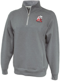 Coventry 1/4-Zip Fleece, Heathered Gray