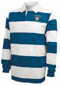 UD Alumni Landshark-Logo Rugby Stripe Polo