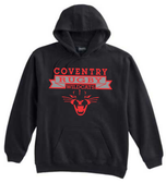 Coventry Rugby Wildcats Hoodie, Black