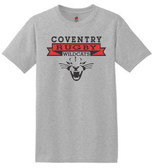 Coventry Rugby Wildcats Cotton Tee, Gray