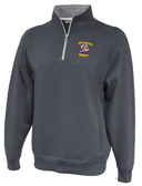 West Chester 1/4-Zip Fleece, Heathered Black