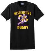 West Chester Rugby Cotton Tee, Black