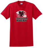 Loudoun Rugby Cotton Tee, Red