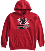 Loudoun Rugby Hoodie, Red