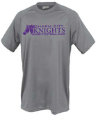 Charm City Knights Performance Tee, Graphite