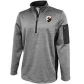 Rochester Colonials Performance Fleece 1/4-Zip, Silver