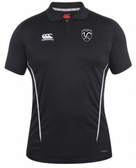 Rochester Colonials CCC Team Dry Polo, Black