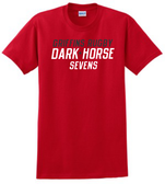 Dark Horse 7s Cotton Tee, Red