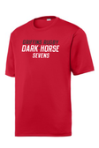Dark Horse 7s Performance Tee, Red
