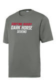 Chicago Dark Horse 7's Performance Tee, Charcoal