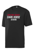 Dark Horse 7s Performance Tee, Black