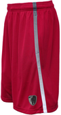 Dark Horse 7s Gym Shorts, Red