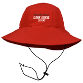 Chicago Dark Horse 7's Rugby Boonie Hat, Red