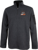 Black Foxes Heathered Fleece Pullover
