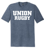 Union Rugby Triblend Tee, Navy Frost