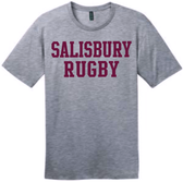 Salisbury Rugby Cotton Tee, Gray