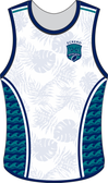Eckerd Tritons Custom Rugby Singlet