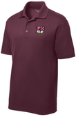 PhilaU Polo, Maroon Heather