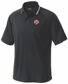 Temple Rugby Performance Polo, Black