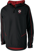 Temple Rugby Quarter-Zip Hooded Jacket