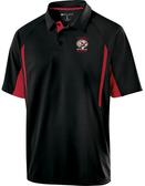 Temple Old Boys Rugby Performance Polo, Black/Red