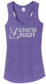 Scranton Women's Rugby Ladies-Cut Triblend Racerback Tank