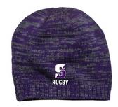Scranton WRFC Beanie, Purple/Charcoal