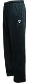 Geneseo Rugby Performance Fleece Pants, Black