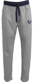 Geneseo Rugby Contrast Sweatpants, Gray/Navy