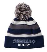 Geneseo Rugby Pom Beanie