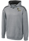 Syracuse Chargers Performance Fleece Hoodie, Gray