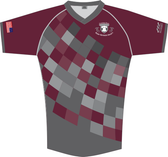 EPRRS Supporter Cut Custom (Required) Jersey, Maroon/Gray