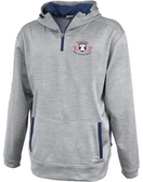 EPRRS 1/4-Zip Performance Fleece Hoodie, Silver/Navy