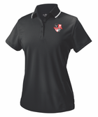 CUAWRFC Rugby Performance Polo, Black