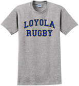 Loyola Dons Rugby Tee, Gray