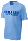 Grunion Rugby Performance Tee, Heather Royal