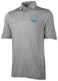 Grunion Rugby Striped Performance Polo