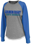 Grunion Rugby Full Logo Ladies-Cut Crew
