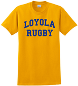 Loyola Dons Rugby Tee, Gold
