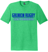 Grunion Rugby Triblend Tee, Green