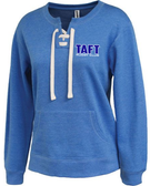 Taft Rugby Ladies-Cut Laced Crewneck