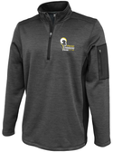 Syracuse Chargers 1/4-Zip Performance Fleece, Graphite