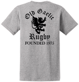 Old Gaelic Rugby Tee, Gray