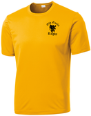 Old Gaelic Rugby Performance Tee, Gold