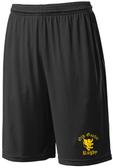 Old Gaelic Rugby Gym Shorts, Black