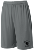 Old Gaelic Rugby Gym Shorts, Gray